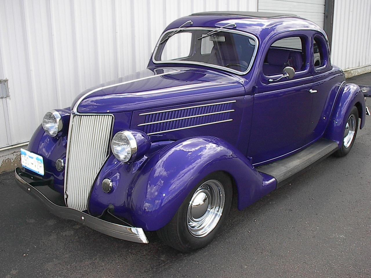 Wild child automotive inc 1936 ford 5 window coupe for 1936 dodge 5 window coupe
