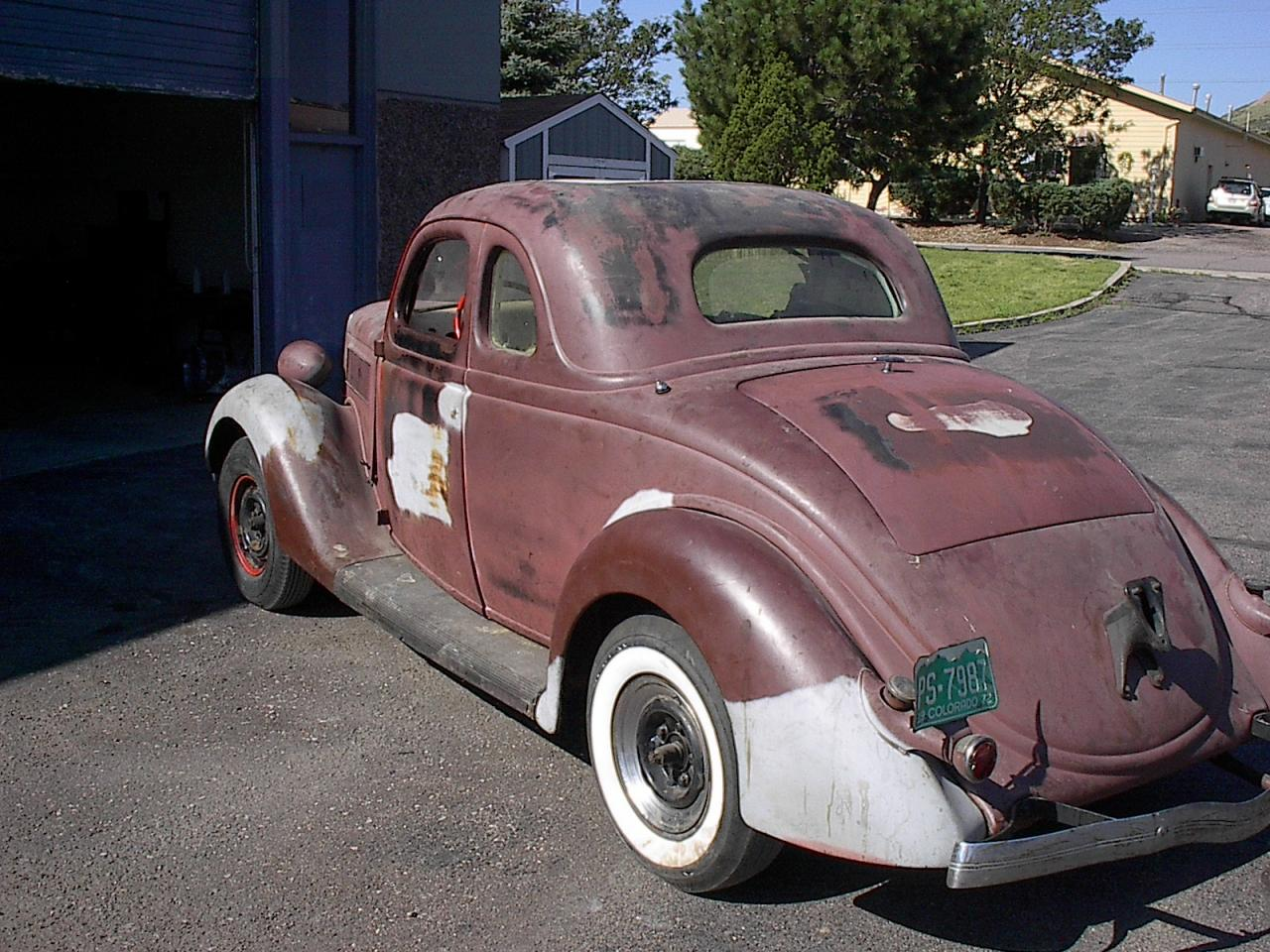 Wild child automotive inc 1936 ford 5 window coupe for 1936 plymouth 5 window coupe sale
